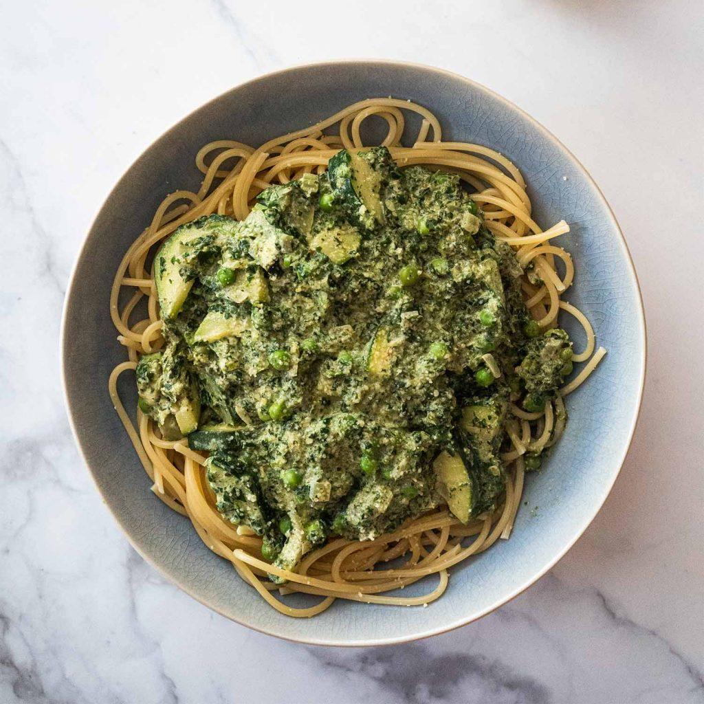 Green Lemon Spaghetti