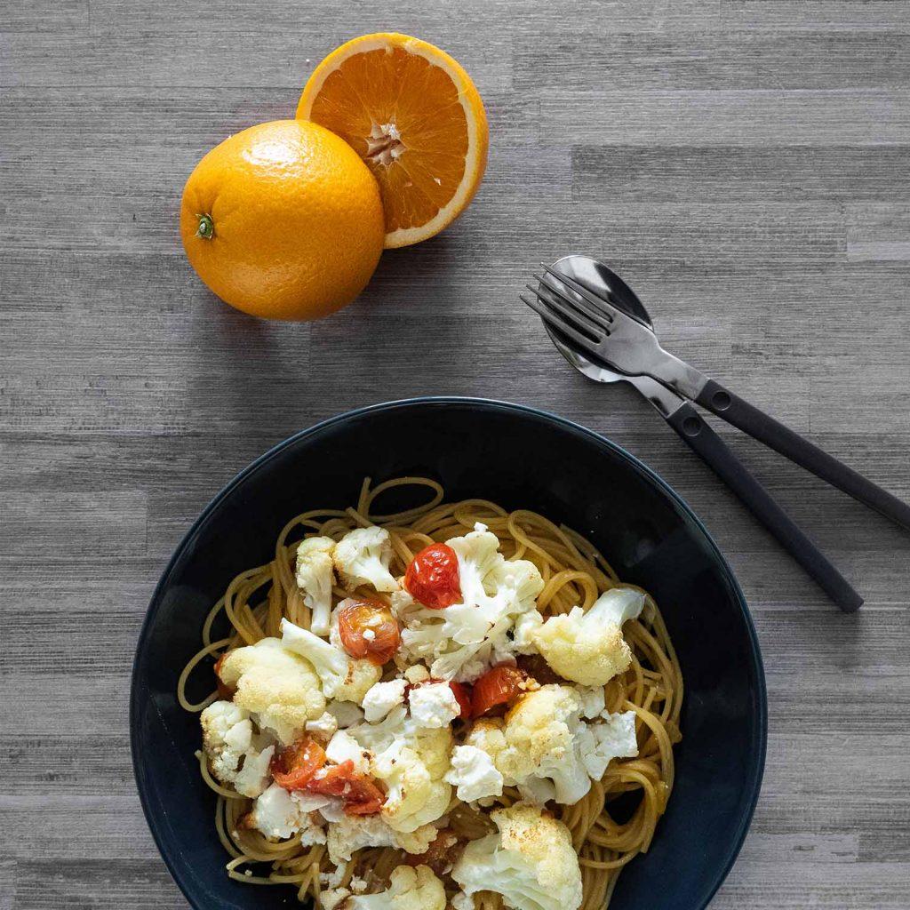 Orange Chilli Spaghetti