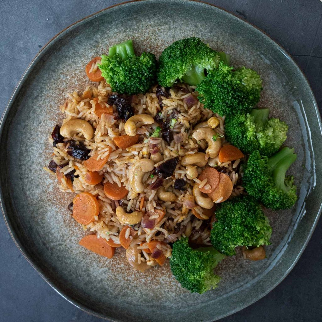 Orange Prune Rice